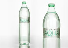 AQUA Natural Mineral Water on Packaging of the World - Creative Package Design Gallery