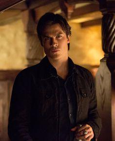 "Damon Looks On in Vampire Diaries Season 4, Episode 16: ""Bring It On"""