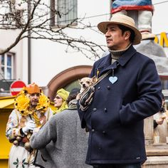 «Come as you want or as you are at the fasnet in Schramberg ! This Chileano did come as he is   #joingermantradition #jaimelallemagne»