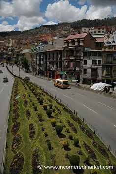La Paz, Bolivia. We will be traveling here as we are completely obsessed with some of its history.