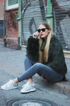 Get this look: http://lb.nu/look/8014756  More looks by Marta M: http://lb.nu/user/169991-Marta-M  Items in this look:  Asos Coat, Asos Jeans, Adidas Sneakers   #casual #sporty #street