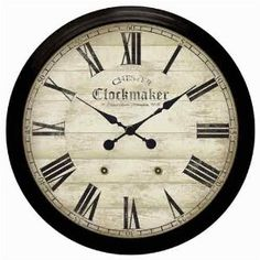 Oversized Wall Clock 36 Chester Clockmaker