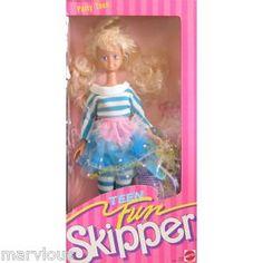 Teen Fun Skipper...even had her BFF Courtney! I gave them both haircuts.