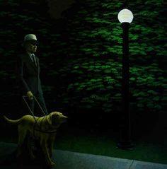 Night walk by David Alexander Colville