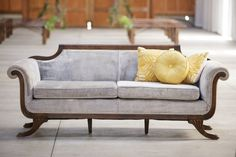 Vintage Ambiance Rentals for Your Special Event 1930s Furniture, Lounge Furniture, Pink Velvet Sofa, Outdoor Sofa, Color Inspiration, Love Seat, Upholstery, Couch, Interior Design