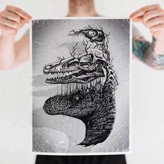 Paul Jackson é um artista britânico de 34 anos, que vive em Toronto, no Canadá, e se dedica a elaborar, com a ajuda de lápis e papel, as mais incríveis obras de arte. Comcomposições que traçamuma linha tênue entre a vida, a morte e a realidad...