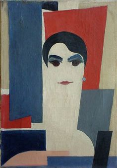 Portrait of Dora Rukser, 1927 - Hans Richter Art And Illustration, Dadaism Art, Centre Pompidou Metz, Hans Richter, Hans Arp, Francis Picabia, Action Painting, Art Database, Marcel Duchamp