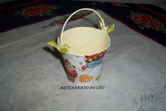 Mini Baldinho Cupcake - R$ 10,00 Cod. PMC 019 VENDIDO