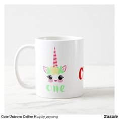 Cute Unicorn Coffee Mug