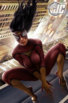 Spider-Woman Created by Jeff Chapman