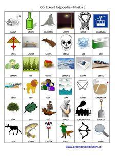 Výslovnost hlásek :: 32zsul-husakovas7 Street Art, Preschool, Classroom, Science, Education, Logos, Kids, Studying, Class Room