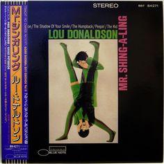 LOU DONALDSON / LONNIE SMITH / MR.SHING-A-LING / BLUE NOTE / TOSHIBA JAPAN OBI