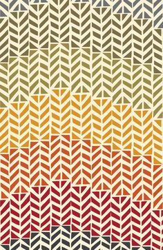 pinterest.com/fra411 #pattern - rainbow arrows by Jennifer Judd-mcgee