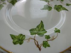 Two Vogue Ceramic Industries Plates  Royal by ChicAvantGarde