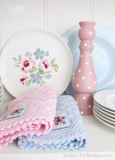 A Cottage Life ~ Easy to make polka dots! - Shabby Art Boutique