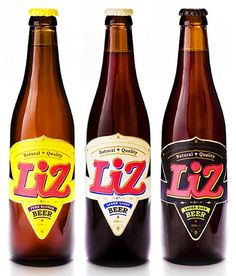 23 liz beer label cool awesome beer labels (concept)