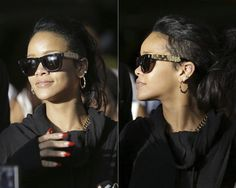 Super 'Ciccio Zoot Gold' sunglasses >> Exclusive details on Haus of Rihanna