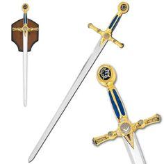 "45"" Masonic Ceremonial Sword Templar Knight Freemasonry Martial Arts Land,http://www.amazon.com/dp/B000OMZUEK/ref=cm_sw_r_pi_dp_X2Ustb1RBPCEZ9MM"