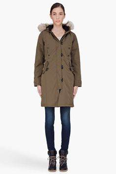 Canada Goose womens online price - CANADA GOOSE 'Mystique' Regular Fit Down Parka With Genuine Coyote ...