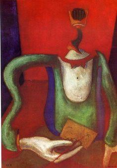 'der brief', 1924 von Max Ernst (1891-1976, Germany)