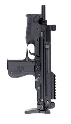 BRS-99 Tactical is a semi automatic variant of the PM-06 submachine gun developed in Poland by the famed Fabryka Broni Łucznik