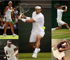 Nike tennis fashion for 2014 #Wimbledon including Rafael Nadal, Roger Federer, Maria Sharapova, Serena Williams, Victoria Azarenka, Grigor Dimitrov, and more #tennis #tennisfashion #tennisstyle