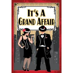Roaring 20s party decor | ... processing from Birthday Direct - Roaring Twenties Party Supplies