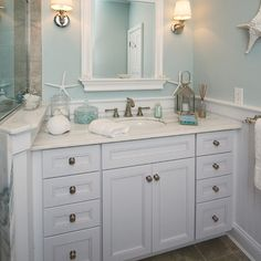 beach theme bathroom decor | Bathroom Design Ideas, Pictures, Remodeling and Decor