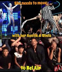 Haha #miley cyrus #vma #will smith #fresh prince