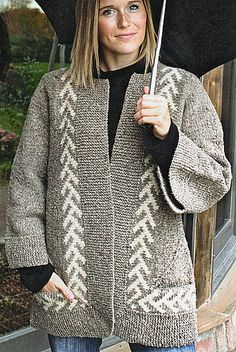 Zig-Zag Jacket by Elizabeth Zimmermann. pattern avail thru Amazon