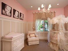 Adorable baby Girl nursery