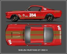 Shelby Ford Mustang GT-350H