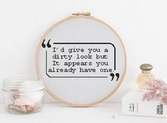 I'd give you a dirty look but it appears you already have one counted cross stitch xstitch pattern pdf