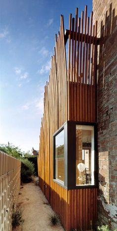 Rustic Aesthetic Renewal Extension Sustainable Design House : Wood Cladding Rustic House Extension Exterior Detail3