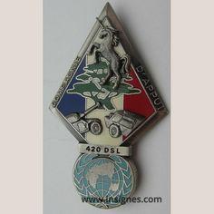 420° DSL Compagnie d'Appuis 17° Mandat (licorne) - Insignes.com