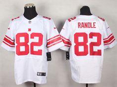 New York Giants 82 Randle White Elite Jerseys
