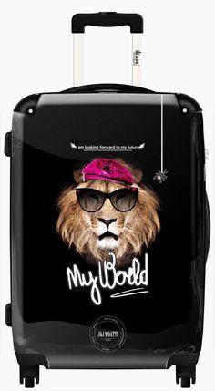 Suitcase Lion disco