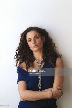 Portrait of Danielle Cormack, New Zealand TV star, plays a troubled celebrity in Yellow Moon.