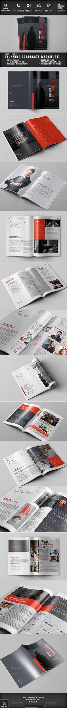 Brochure Template InDesign INDD. Download here: https://graphicriver.net/item/brochure/17561680?ref=ksioks