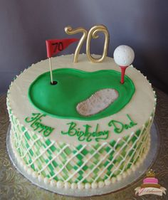1000 Ideas About Golf Birthday Cakes On Pinterest Golf