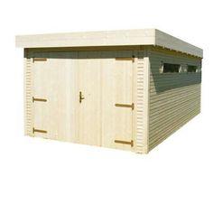 Garage bois BLOOMA Kayla 2 14,52 m² | Castorama