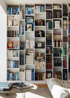 platzsparende einrichtung ideen regalsysteme buchsammlung, 507 besten room goals bilder auf pinterest in 2018   bookshelves, Design ideen