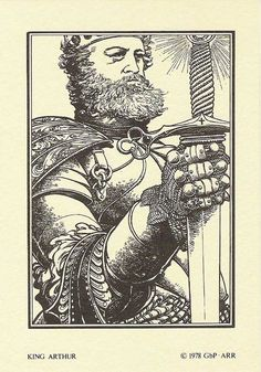 ungoliantschilde: Barry Windsor-Smith - the Arthurian Legends Portfolio