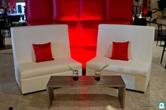 Event furniture rentals images and ideas – Los Angeles, Las Vegas Events Furniture Inspiration, Design Inspiration, Design Ideas, Las Vegas Events, Wedding Lounge, Red Pillows, White Furniture, Cocktail Tables, Wedding Events