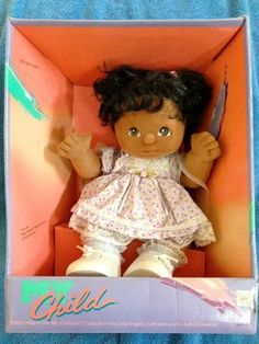 I had this My Child doll... Her name was Emmy Lisa. :-)