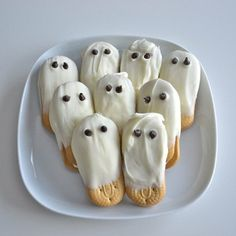 Galletitas faciles de fantasmas!