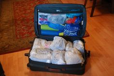 Large Family Organization...vacation packing