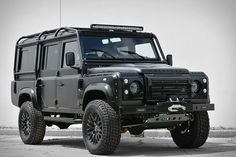 The Land Rover Defender and Chevrolet Corvette are two of the most iconic vehicles ever produced. So it only makes sense to combine them. The East Coast Defender Beast SUV pairs the Rover's off-road prowess and masculine lines with the...