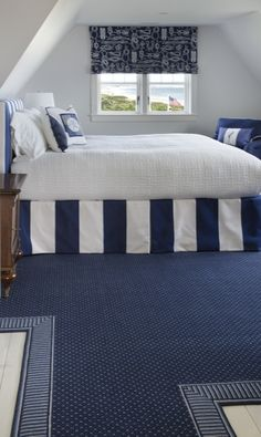 How to decorate a blue carpeted room terry o 39 quinn blue - Carpet colors for white walls ...