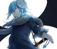 Chica Anime Manga, Kawaii Anime, Anime Guys, Cool Anime Wallpapers, Animes Wallpapers, Fanarts Anime, Anime Characters, Slime Wallpaper, Blue Hair Anime Boy